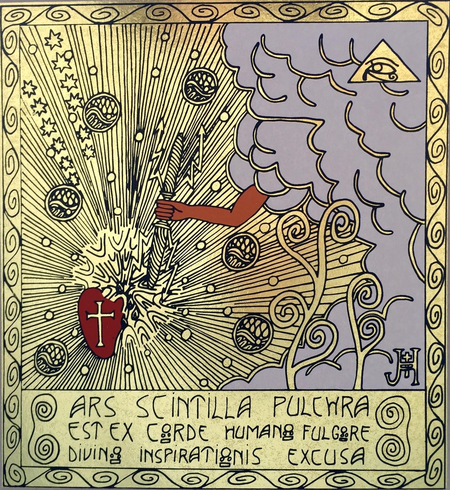 Obraz Vize magického ornamentalismu