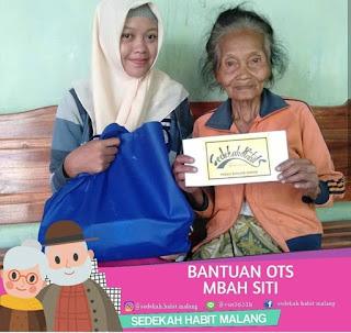 Mbah Siti : Bantuan OTS