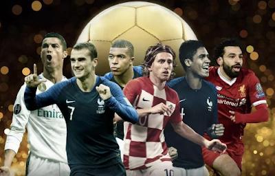 Ballon d'Or, 2018, nominees, Messi, CR7, Modric, 30-Man, candidates, Shortlist, women's, list, winners.