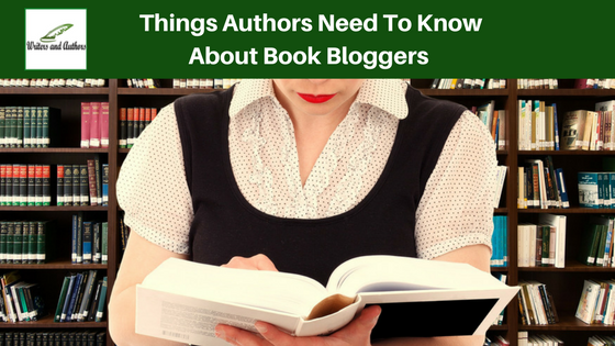 Things Authors Need To Know About Book Bloggers