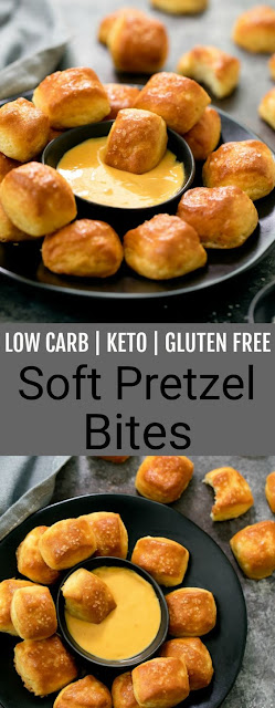 Low Carb Keto Soft Pretzel Bites