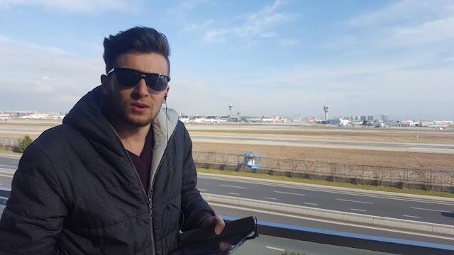 Harun İstenci Atatürk Havalimanı hakkında konuşurken...