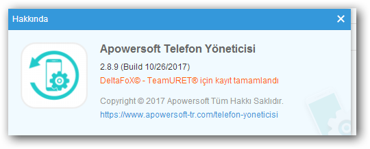 Apowersoft Phone Manager 2.8.9 TR - Katılımsız Program