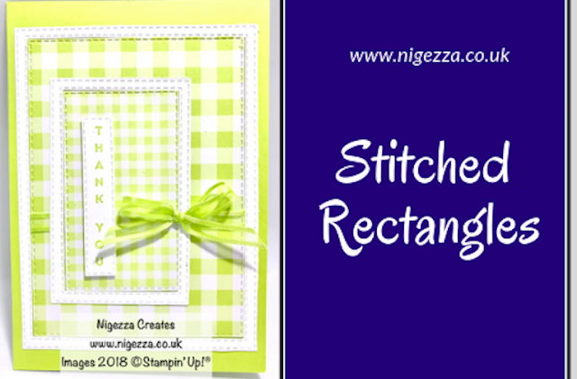 Stitched Rectangles Framed Card Nigezza Creates