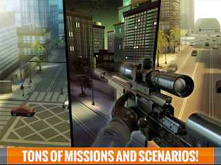 Sniper 3D Assassin Unlimited Coins and Diamonds APK + Data [Mod]