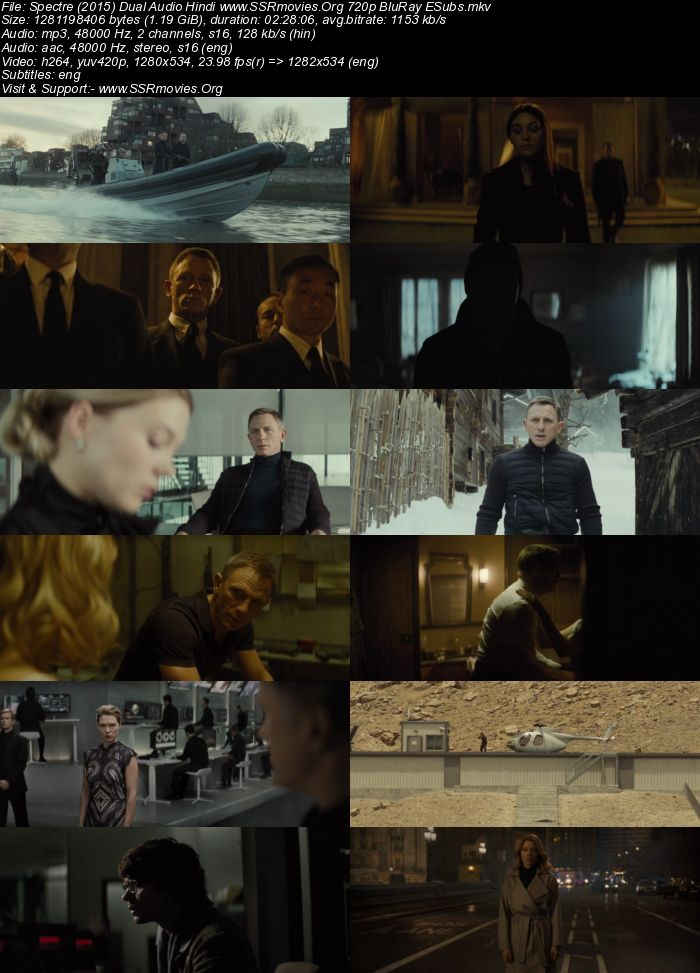 Spectre (English) movie in hindi download in hd