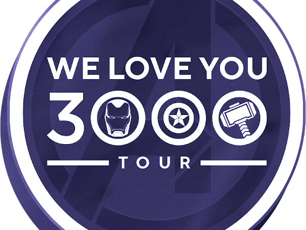 """MARVEL STUDIOS CELEBRATES THE IN-HOME RELEASE OF """"AVENGERS: ENDGAME"""" WITH THE  """"WE LOVE YOU 3000"""" TOUR"""