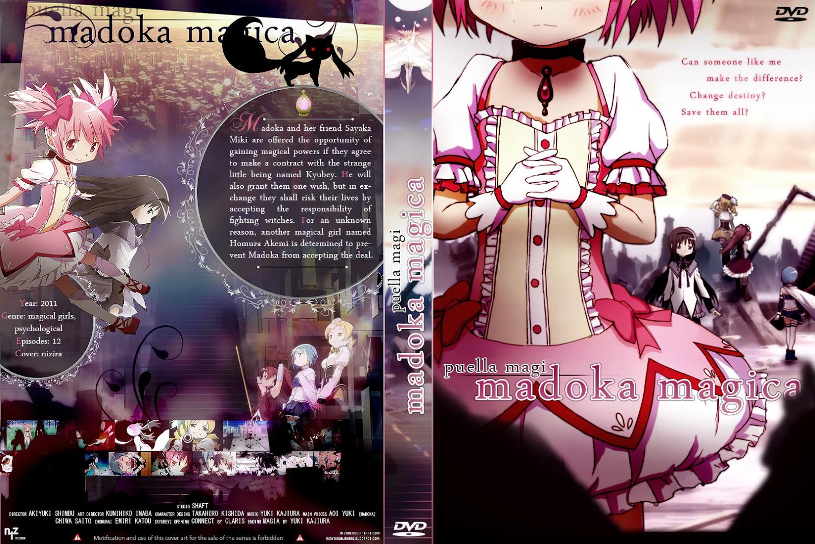 Capa DVD Puella Magi Madoka Magica