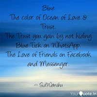 the colour of ocean of love