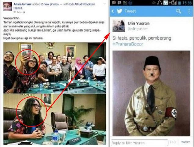 Beredar Foto Kapolri Undang Netizen Pendukung Ahok, Salah Satunya Akun Penghina Prabowo : Berita Terupdate Hari Ini