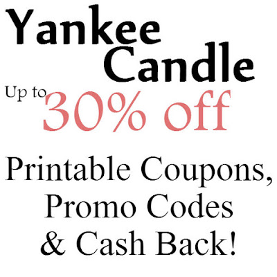 Yankee Candle Printable Coupon February, March, April, May, June, July 2016