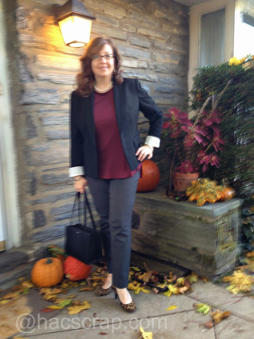 Business Casual Outift - Mid-Life Mom Style
