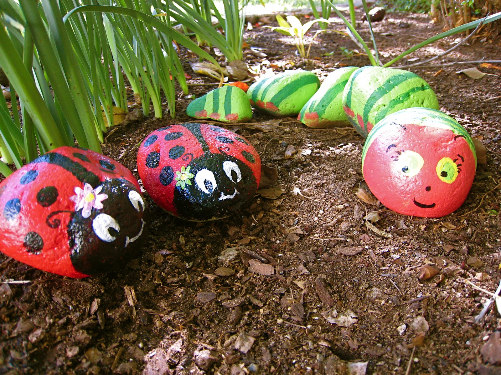 Thrifty Nifty Things Spring Rock Critters