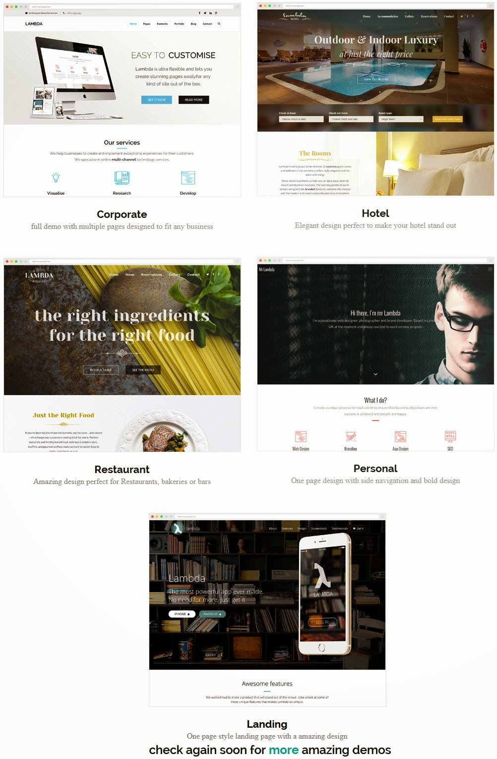 Best Multipurpose Bootstrap Template 2015