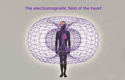 Human electromagnetic field for communication