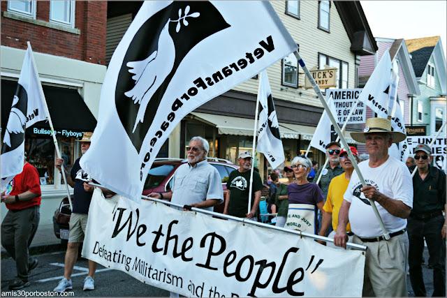 Desfile del 4 de Julio en Rockport: Veteranos