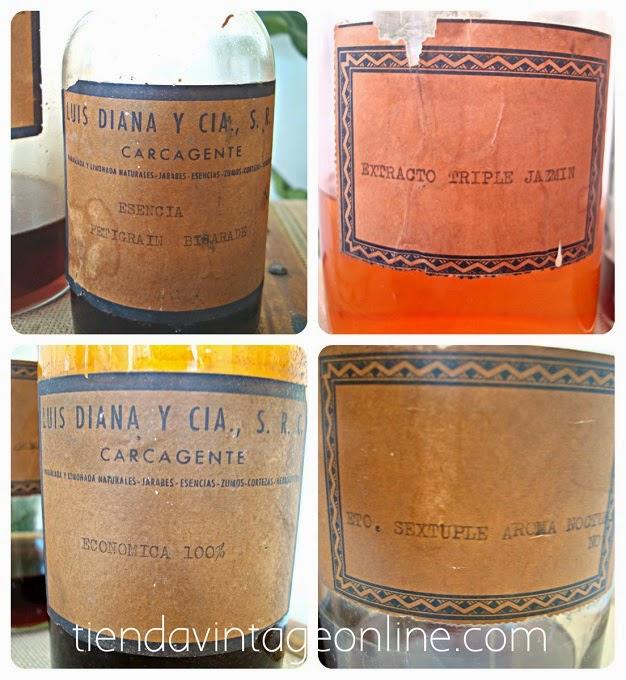 Comprar botellas antiguas para decorar. Venta de botellas vintage en valencia
