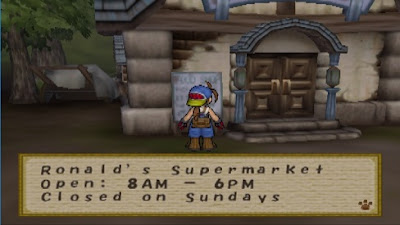 Ronald's Supermarket Harvest Moon: Save The Homeland