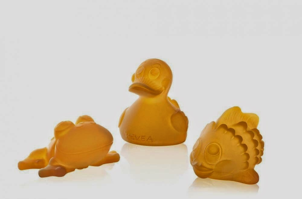 Eco Friendly Baby Toys - Hevea Bath toys