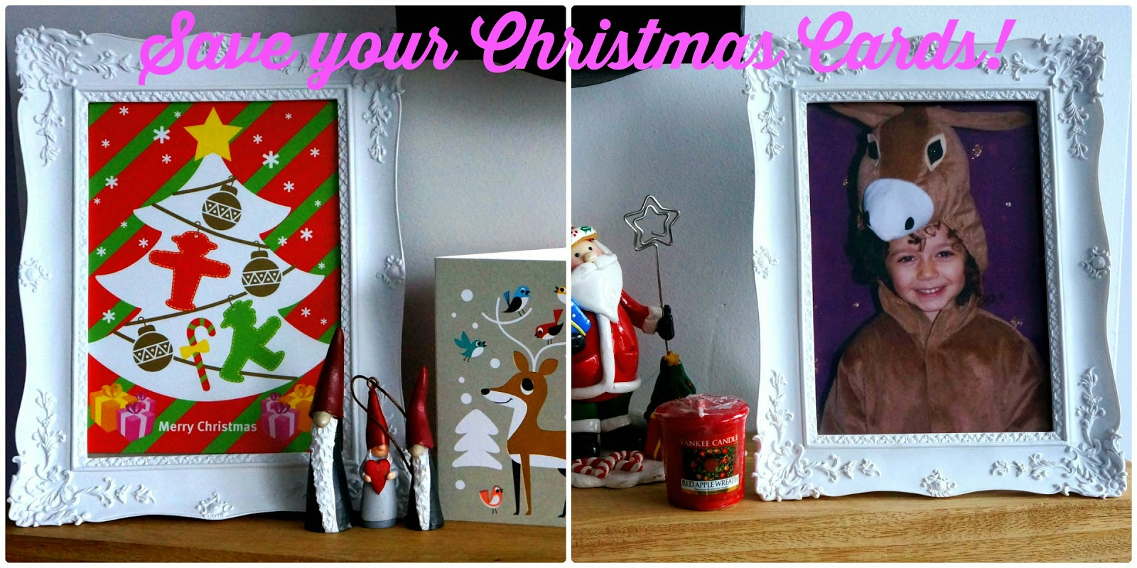 SAVE YOUR SCISSORS :: REUSE YOUR CHRISTMAS CARDS