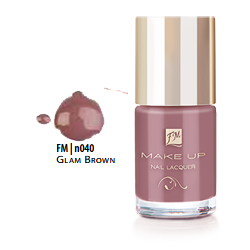 FM Group n040 Nail Lacquer Gel Finish