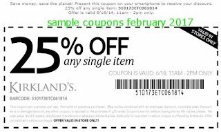 Kirklands coupons for february 2017
