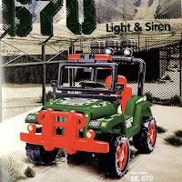 shp sk670 komando mobil mainan anak