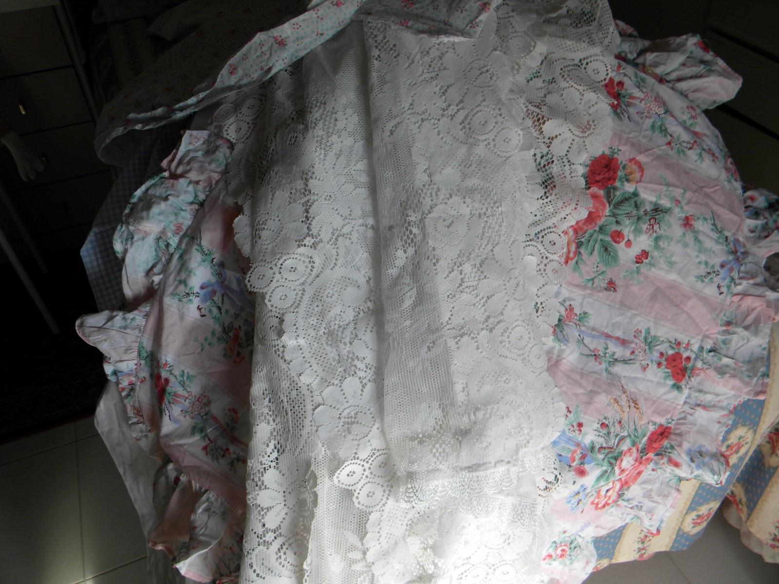 the romantic rose cose di stoffa usate