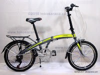 A 20 Inch Giant Alumunium Alloy Frame Folding Bike