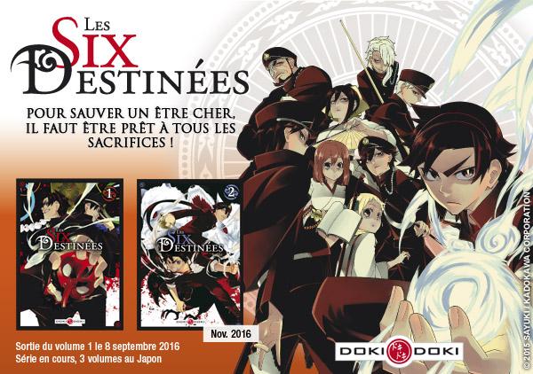 Les Six Destinées - Trailer des éditions doki-doki
