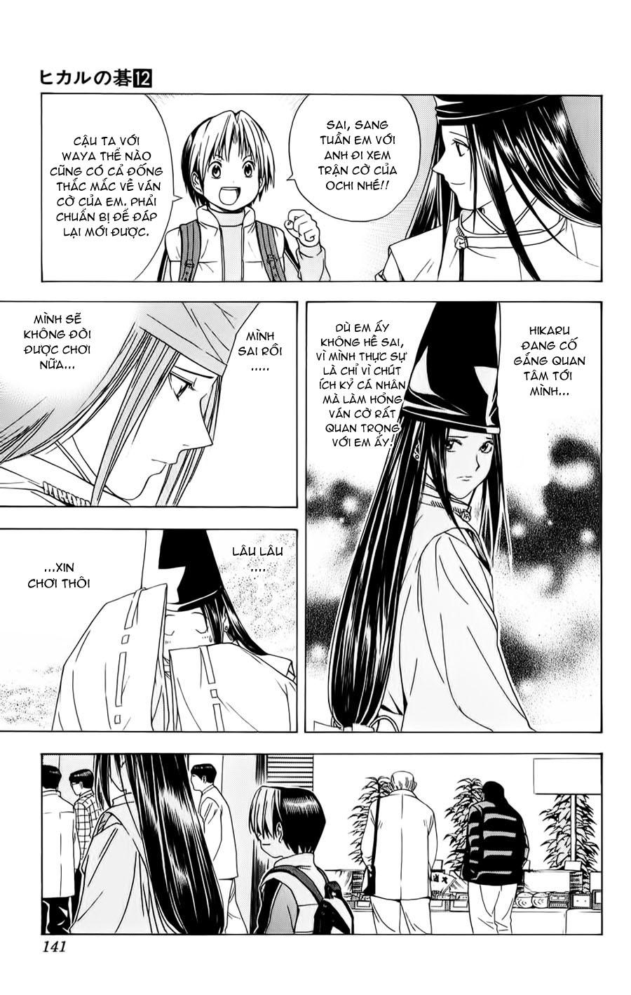 Hikaru No Go hikaru no go chap 102 trang 19