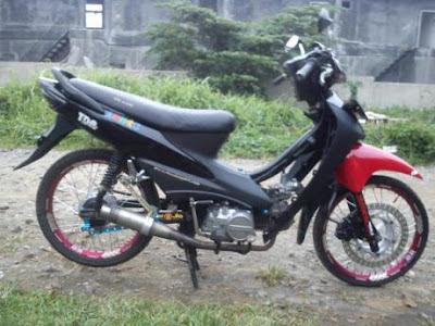 Modifikasi Motor Supra Fit Ala Thailand