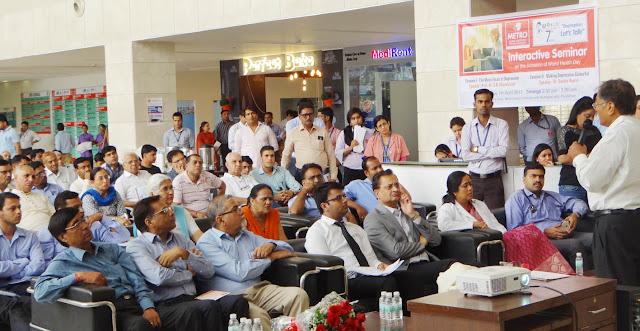 seminar-on-world-health-day-at-metro-hospital-faridabad-haryana-india