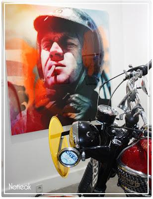 Steve McQueen et sa passion des motos