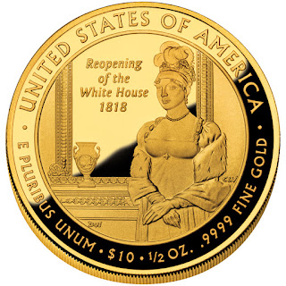 United States Gold Coins Elizabeth Monroe First Spouse 10 Dollars Gold Coin