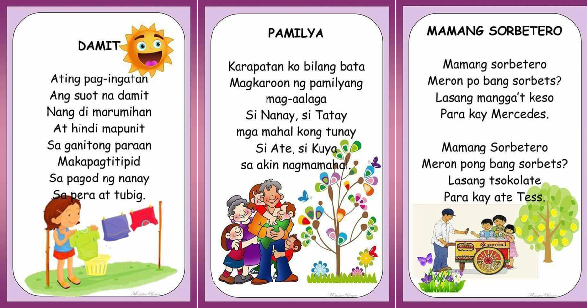 FREE FILIPINO READING MATERIALS (Babasahing Pambata
