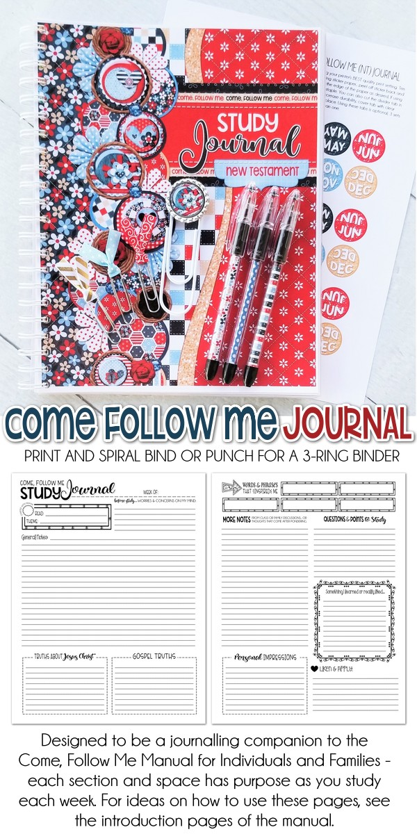 Come Follow Me Journal + GIVEAWAY!
