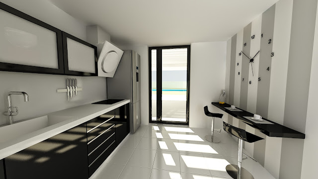 Vivienda modular Resan - Cocina