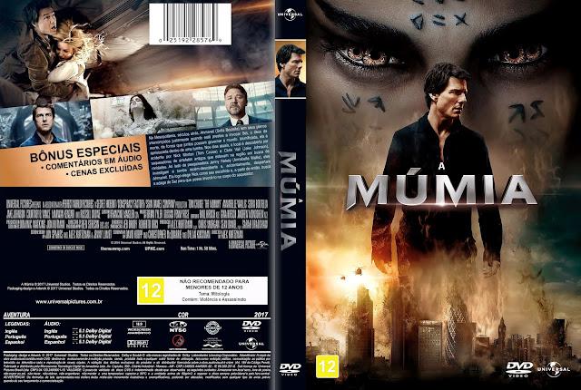 Capa DVD A Múmia [Custom]