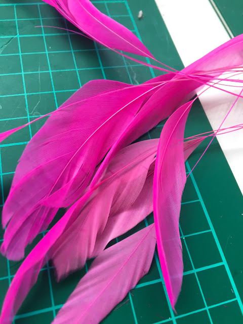 In the studio this week: remaking NEW hats for Sale & Hire!