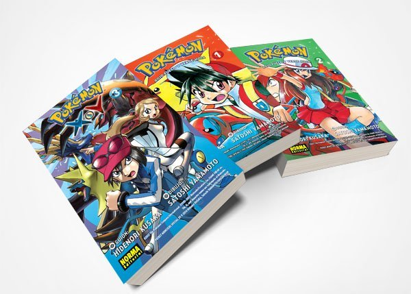Manga de Pokémon Rojo Fuego y Verde Hoja, a la venta desde 30 de marzo