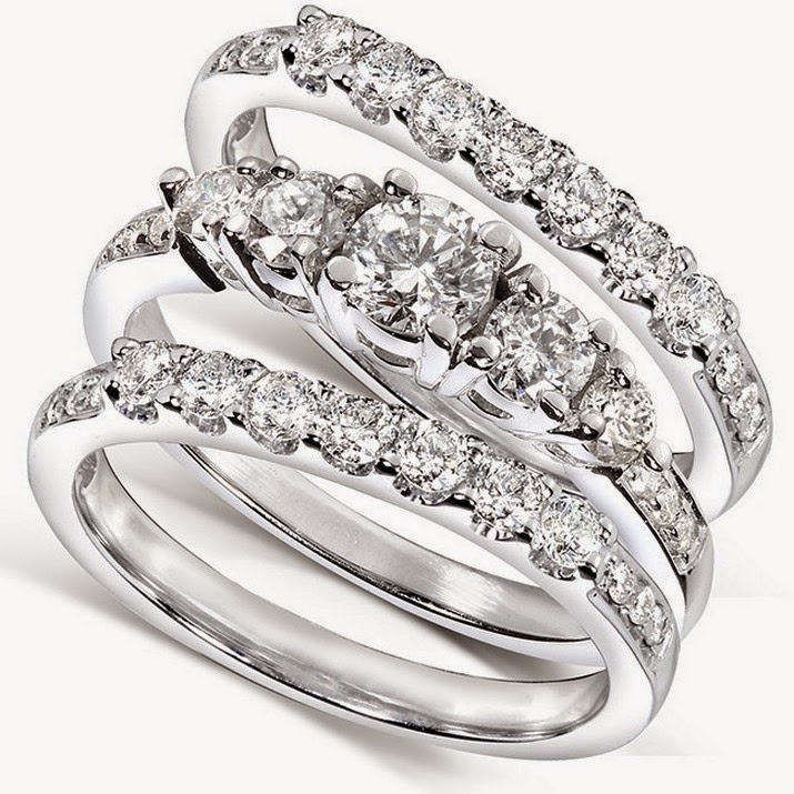 3 Piece Wedding Ring Sets Cheap - Jewelry Ideas