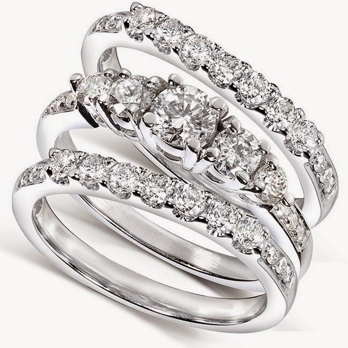 3 Piece Wedding Ring Sets Cheap - Jewelry Ideas