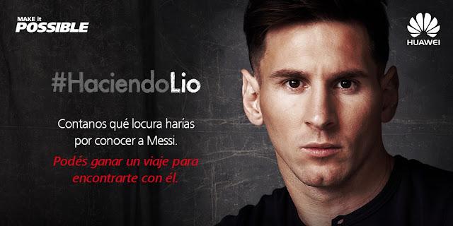 Huawei activa su relación con Messi