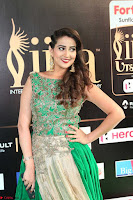 Manjusha in Beautiful Sleeveless Green Anarkali dress at IIFA Utsavam Awards 73.JPG