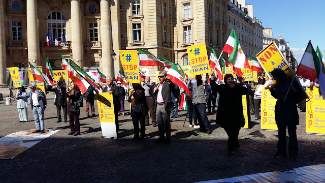 Rally planned in Paris against trip by Iran regime's FM