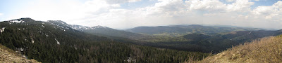 Panorama z Sokolicy