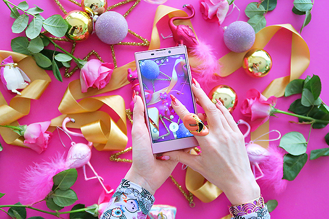 Sara is in Love with… Sony Xperia L2 giveaway blogger Switzerland Christmas win mobile phone gift