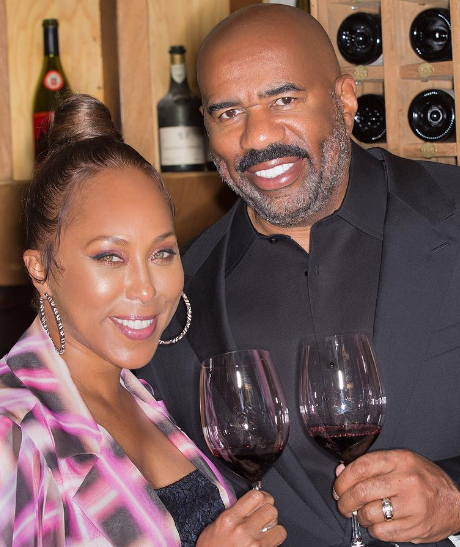 steve harvey wife paris france