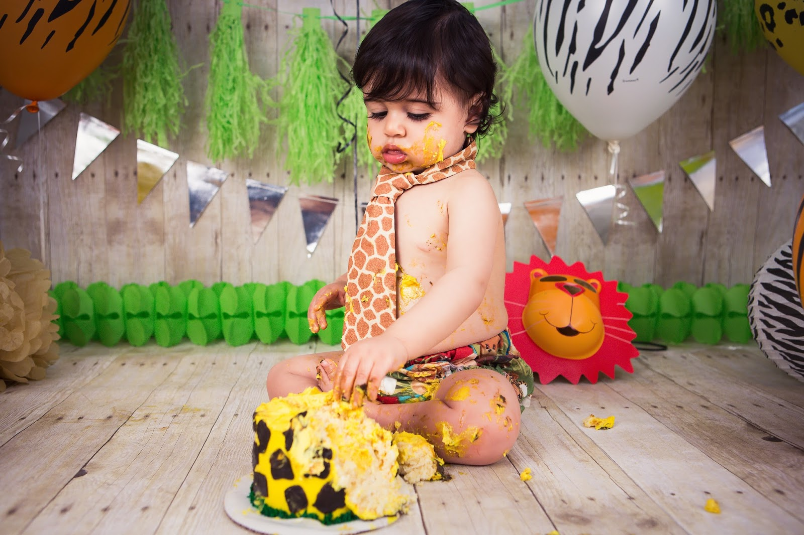 Safari Cake Smash Sweet September